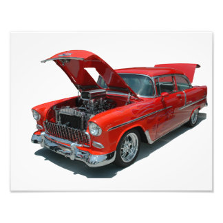 Classic 1950's Era Chevrolet Belair photo print