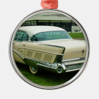 Classic 1958 Buick Limited. Silver-Colored Round Ornament