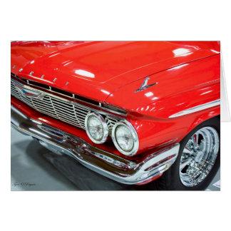 Classic 1961 Chevrolet Impala Card