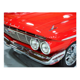 Classic 1961 Chevrolet Impala Postcard