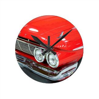 Classic 1961 Chevrolet Impala Round Clock