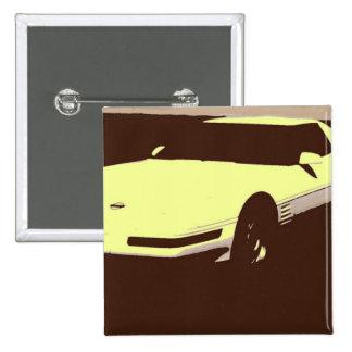 Classic 1992 Car Pinback Buttons