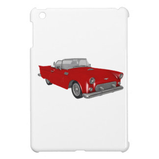 Classic 50s Red Cherry Bomb Car Cover For The iPad Mini