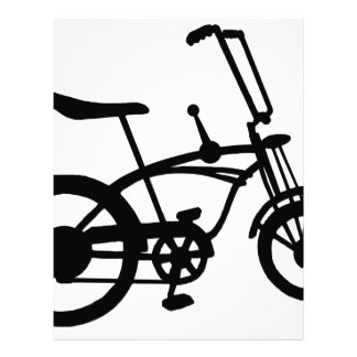 CLASSIC 60'S BIKE BICYLE SCHWINN STINGRAY BIKE LETTERHEAD