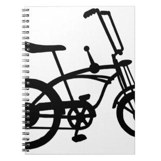 CLASSIC 60'S BIKE BICYLE SCHWINN STINGRAY BIKE NOTEBOOK