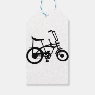 CLASSIC 60'S BIKE BICYLE SCHWINN STINGRAY BIKE PACK OF GIFT TAGS