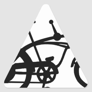 CLASSIC 60'S BIKE BICYLE SCHWINN STINGRAY BIKE TRIANGLE STICKER