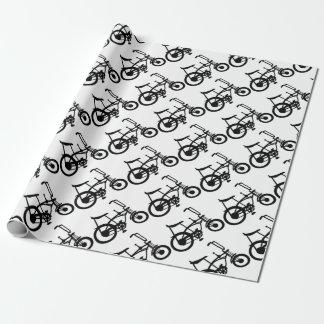 CLASSIC 60'S BIKE BICYLE SCHWINN STINGRAY BIKE WRAPPING PAPER