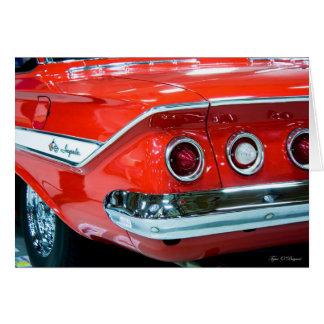 Classic 61 Chevy Impala Card