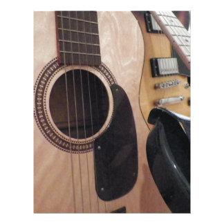 Classic Acoustic Personalized Letterhead
