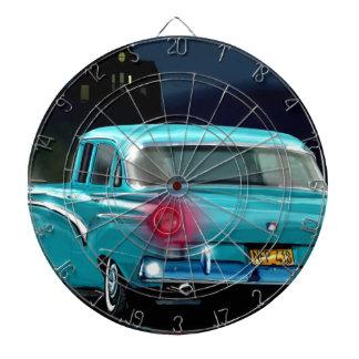 Classic American 50'S Style Automobile. Dartboard