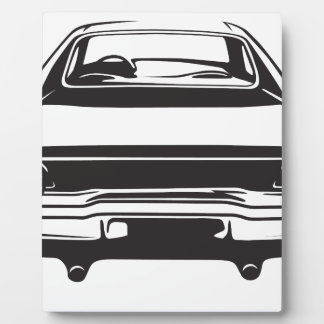 Classic American Charger Plaque