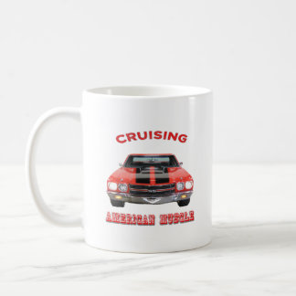 Classic American Muscle Car Chevelle SS Coffee Mug