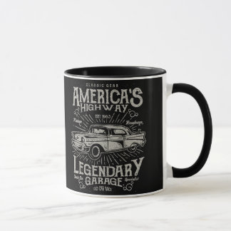 Classic American Muscle Car | Hotrod's Highway Mug