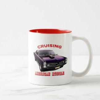 Classic American Muscle Car Two-Tone Coffee Mug