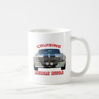 Classic American Muscle Cars Coffee Mug