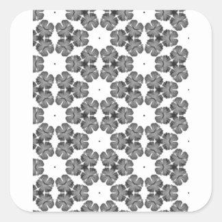 Classic and Clean Square Sticker
