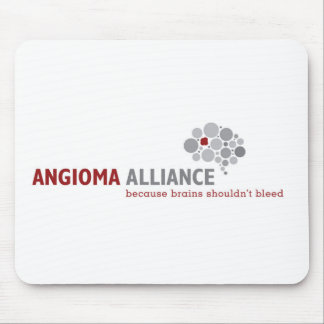 Classic Angioma Alliance Logo Gear Mouse Pad