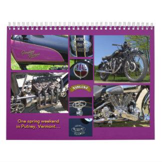 Classic Antique Motorcycles Calendar