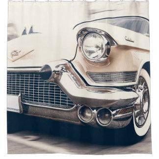 Classic Antique Retro Car Shower Curtain