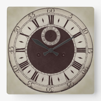Classic Antique Style Roman Numerals Wall Clock