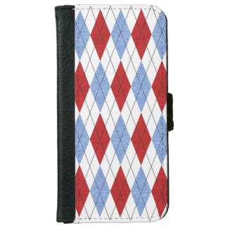 Classic Argyle. iPhone 6 Wallet Case