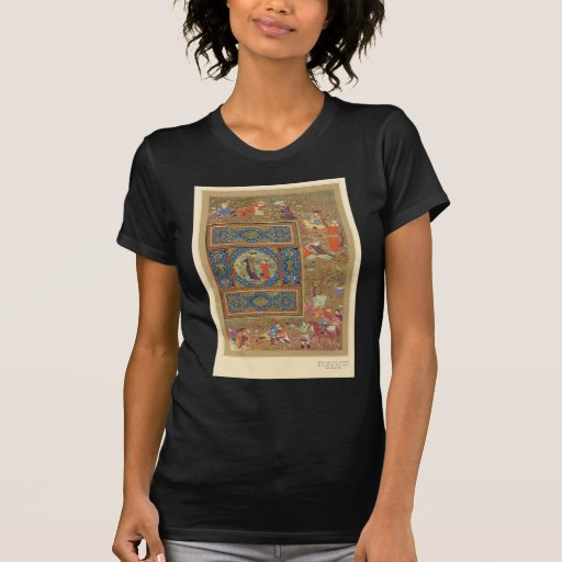 Classic Asian Art decorative panel Tshirt