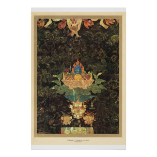 Classic Asian Art Hindu offerings 17th century Poster