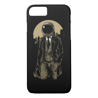 Classic Astronaut Glossy Phone Case