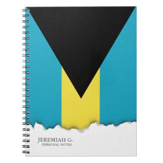 Classic Bahamian Flag Notebook