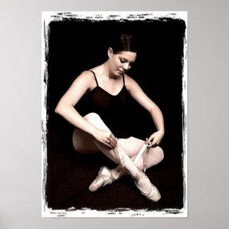 Classic Ballerina Print