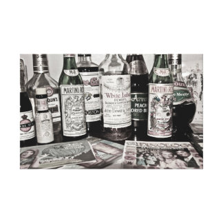 Classic Bar Art Gallery Wrapped Canvas