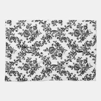 CLASSIC BAROQUE FLORAL PATTERN FOR KITCHEN TOWEL