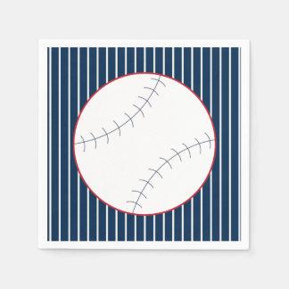 Classic Baseball Party Napkins Paper Napkin