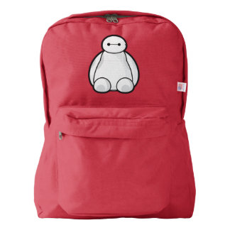 Classic Baymax Sitting Graphic Backpack