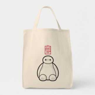 Classic Baymax Sitting Graphic Canvas Bags