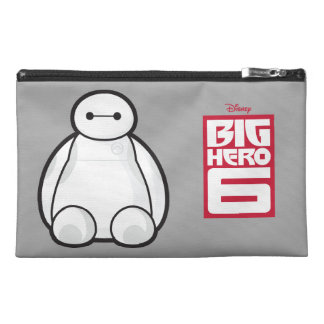 Classic Baymax Sitting Graphic Travel Accessories Bags