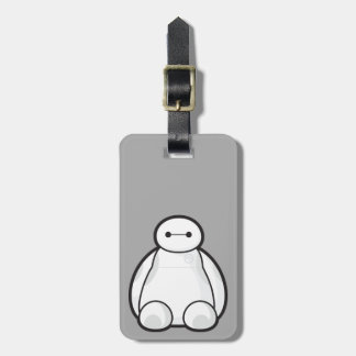 Classic Baymax Sitting Graphic Tag For Luggage