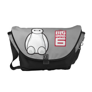 Classic Baymax Sitting Graphic Courier Bags