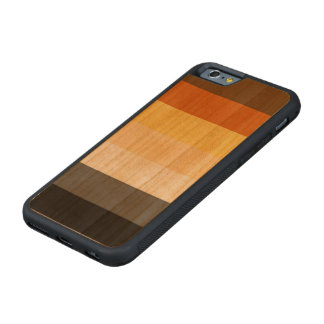 Classic Bear Pride Flag on Carved Cherry iPhone 6 Bumper Case