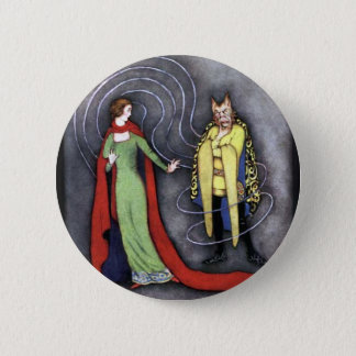 Classic Beauty and the Beast 2 Inch Round Button