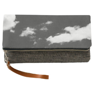 classic beauty in the sky clutch