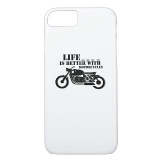 Classic Biker  Life is Better with Motorcycle iPhone 8/7 Case