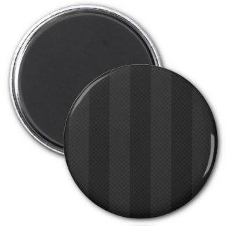Classic Black 2 Inch Round Magnet