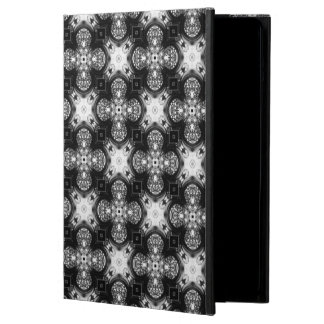 Classic Black and White Patterned Powiscase Case For iPad Air