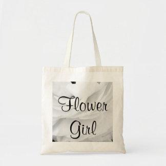 Classic Black and White Wedding Tote Bag