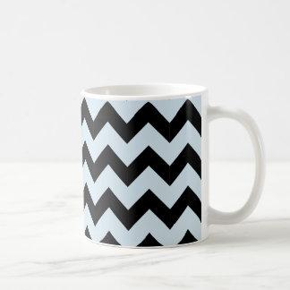 Classic Black & Light Blue Mug