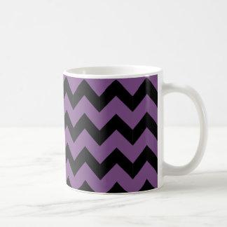 Classic Black & Purple Mug