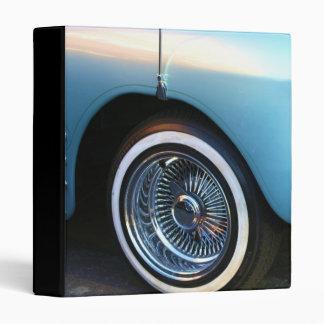 Classic Blue Car binder