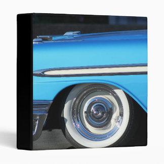 Classic Blue car Binders